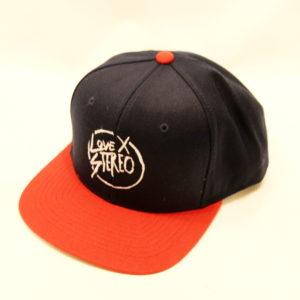 Love X Stereo baseball cap-front