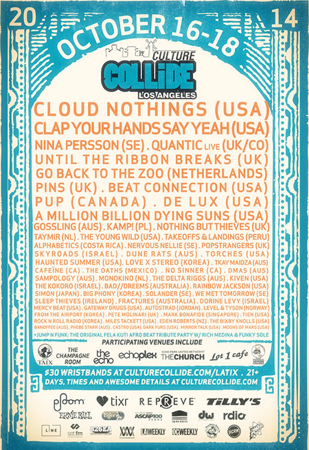 Culture Collide 2014 - Los Angeles